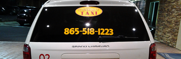 Ground Transportation  | Sunday Taxi Airport - Knoxville, TN